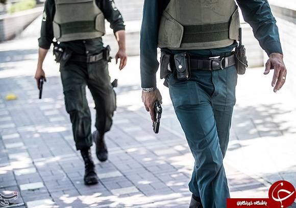 اسلحه های تروریست ها و ماموران امنیت در حادثه تروریستی مجلس و حرم امام ره چه بود؟ فرمانده شجاعی که با AKS-۷۴ به صحنه آمد +عکس