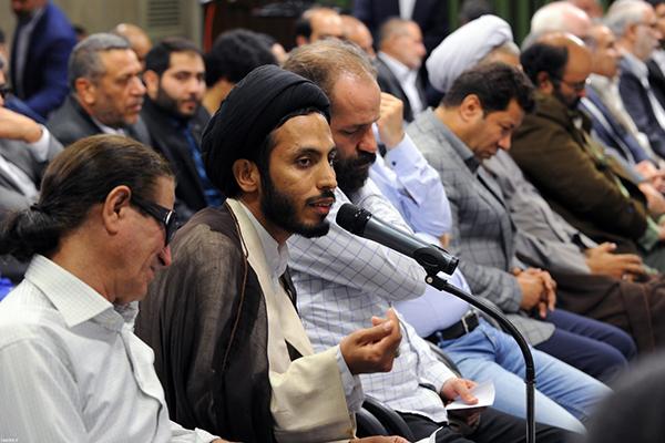 حاشیه دیدار رمضانی شاعران با رهبر معظم انقلاب اسلامی