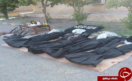 تکذیب دستگیری و درگیری با عناصر در رودان+تصاویر اجساد اشرار مسلح