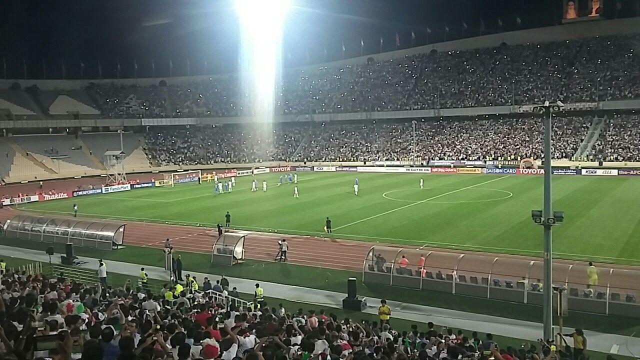 ایران یک - ازبکستان صفر/تنها یک نیمه انتظار تا صعود ایران به جام جهانی