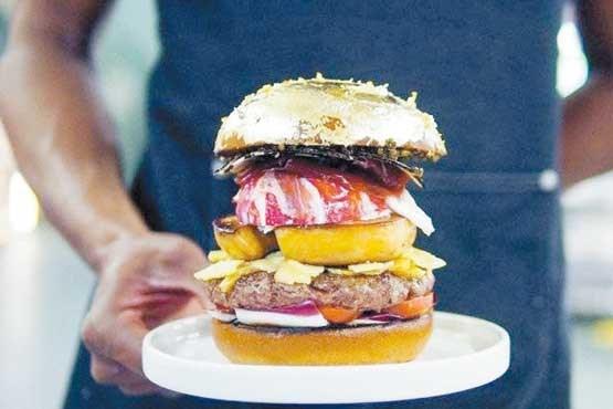 گرانترین همبرگر دنیا+عکس