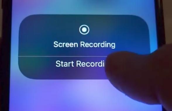 چگونه در iOS 11 از صفحه آیفون فیلم بگیریم؟