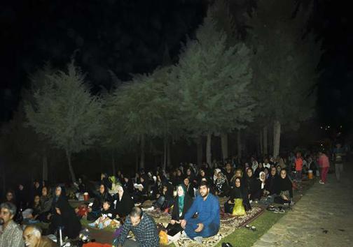 مراسم احیای شب نوزدهم رمضان در خرم آباد + تصاویر