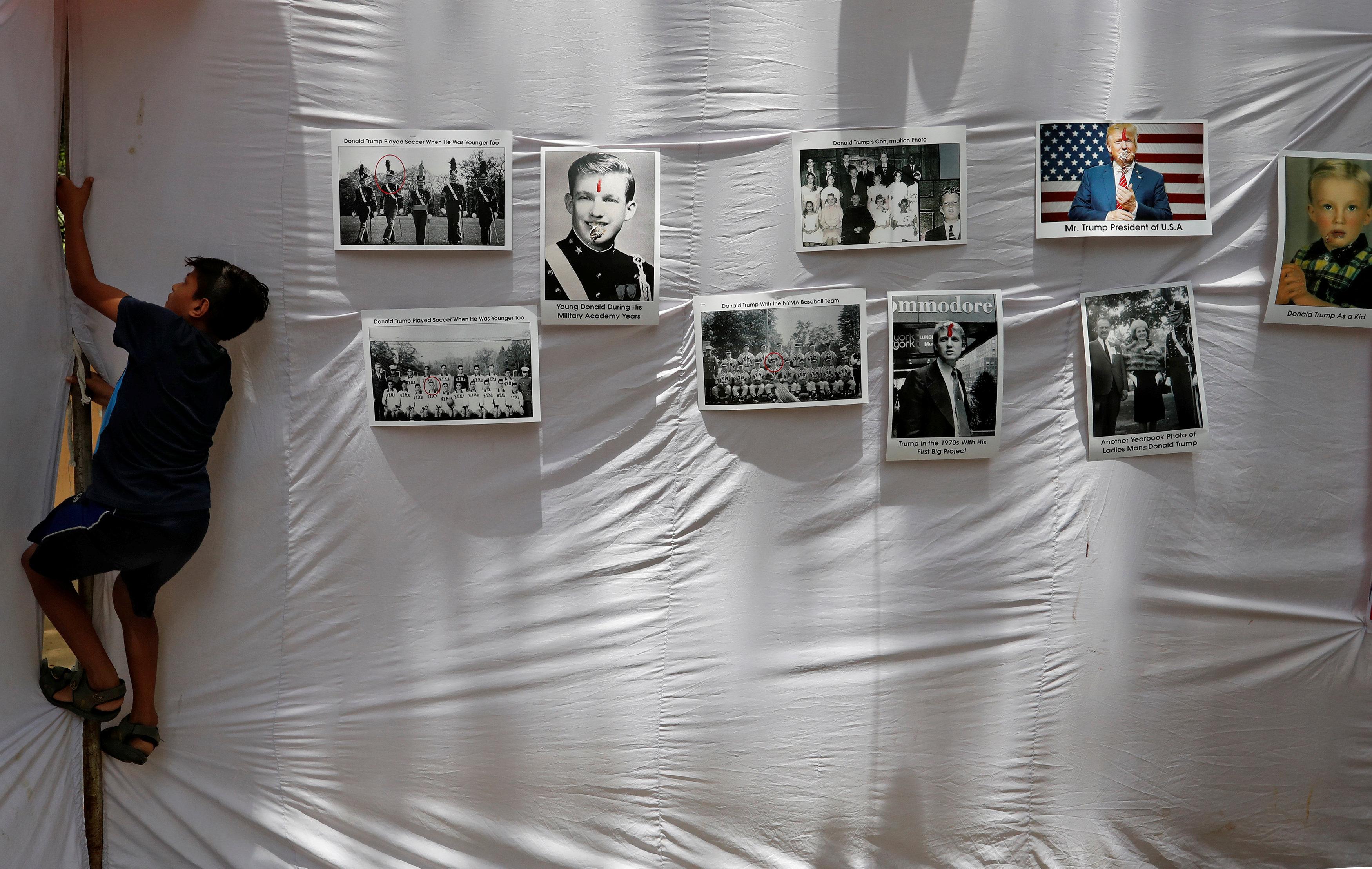 جشن تولد ترامپ در دهلی نو+ تصاویر