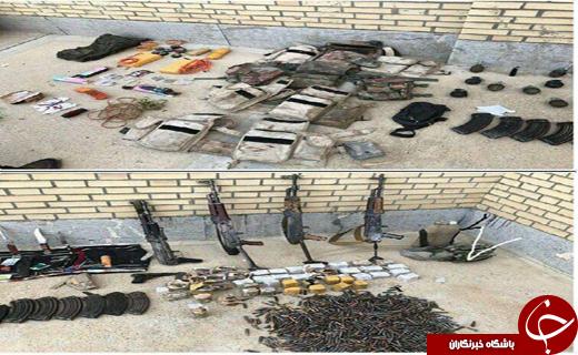 جزئیات جدید از انهدام تیم تروریستی انصارالفرقان/ کشف سلاح های جنگی در محل درگیری+عکس