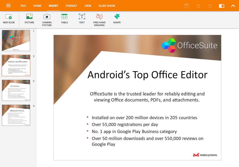 دانلود آفیس سوئیت 9.0.8800 OfficeSuite Pro + PDF برای اندروید ؛ قدرتمندترین آفیس اندروید با پشتبانی از زبان فارسی و PDF