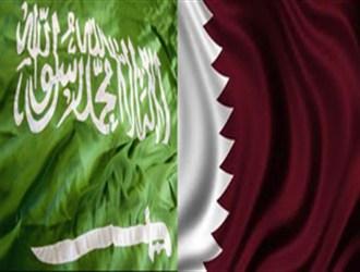 کار قطر و عربستان به کتک کاری کشید +فیلم
