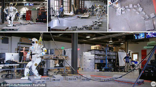 ساخت نخستین روبات انسان نمای فضانورد برای سفر به سیاره سرخ+ تصاویر