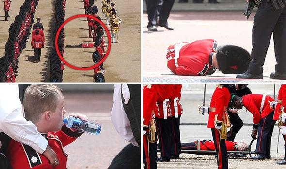آبروریزی 5 سرباز ویژه در مراسم رژه جشن تولد ملکه+تصاویر