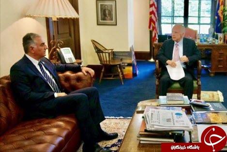 مککین پس از دیدار با «ربع پهلوی»، خواستار تغییر نظام سیاسی در ایران شد