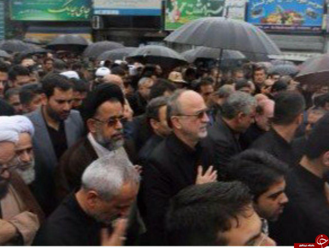 خاکسپاری پیکر مطهر حسن عشوری شهید مدافع امنیت