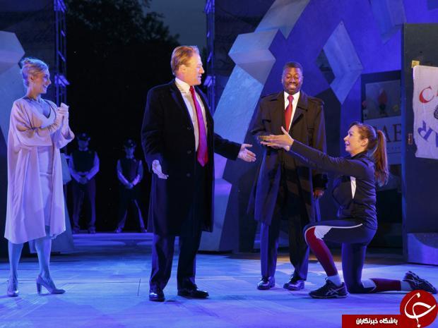 طرفداران ترامپ مانع از اجرای تئاتر ژولیوس سزار در نیویورک شدند