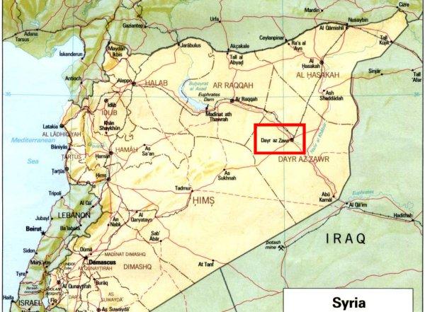 علت شليک موشک هاي سپاه به ديرالزور