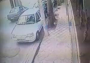 سرقت لوازم خودرو 206 در چند ثانیه !! فیلم