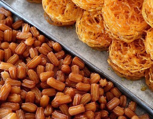 طرز تهیه زولبیا و بامیه خانگی ویژه ماه مبارک رمضان