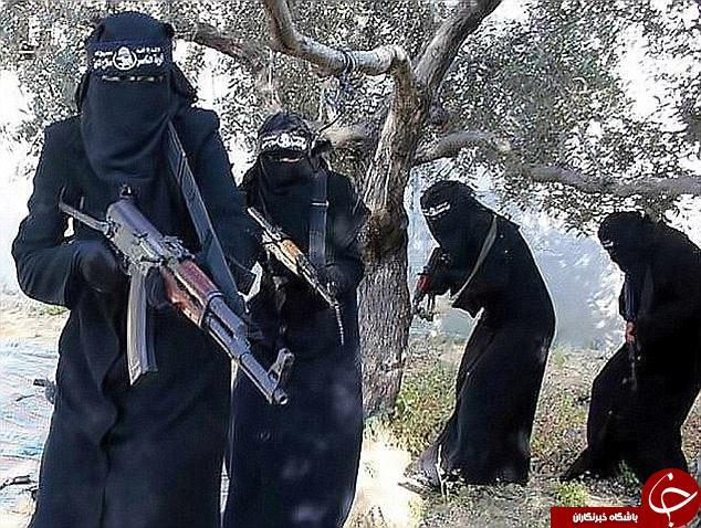 عروس های داعشی در راه بازگشت به انگلیس+ تصاویر