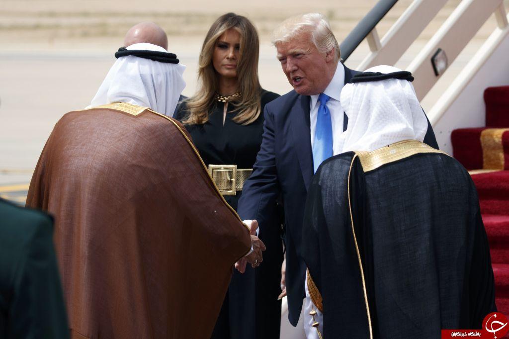 حجاب ملانیا ترامپ در دیدار با رهبر پاپ