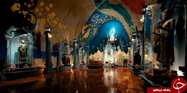 موزه اَروان؛ نمادی از مذهب شرق + تصاویر