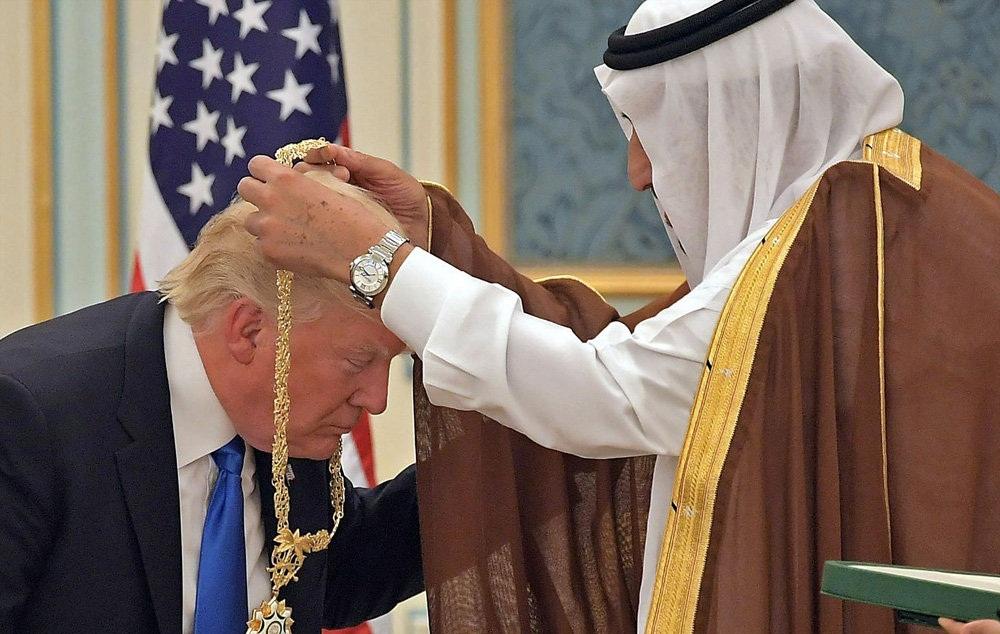 نیویورک تایمز: عربستان بهترین مکان برای خودنمایی ترامپ بود