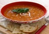 طرز تهیه سوپ گوجه فرنگی+فیلم