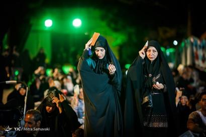 مراسم احیا شب بیست و یکم ماه رمضان - بهشت زهرا(س)
