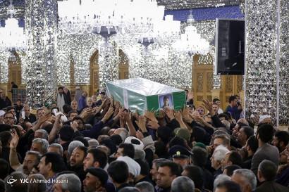 تشییع پیکر دو شهید مدافع حرم - مشهد