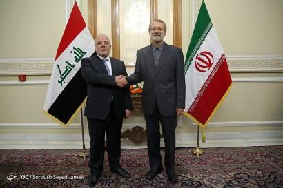 باشگاه خبرنگاران -دیدار نخست وزیر عراق با رئیس مجلس