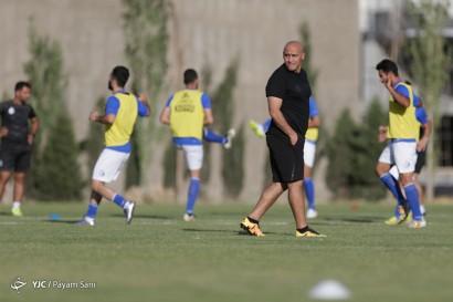 باشگاه خبرنگاران -تمرین تیم فوتبال استقلال