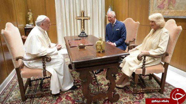 راز حجاب متفاوت ملانیا ترامپ در دیدار با پاپ بر خلاف عربستان+ تصاویر