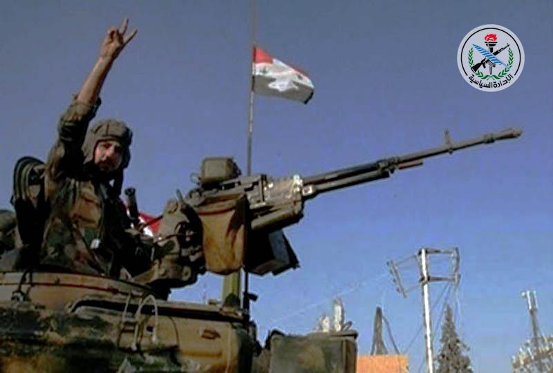 تسلط ارتش سوریه بر 30 نقطه از حومه شرقی حلب/ پرچم مقاومت بر فراز مناطق آزادسازی شده حمص