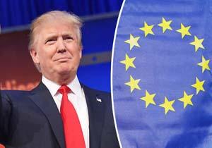 دیدار ترامپ با مقامات بلندپایه اتحادیه اروپا در بروکسل