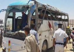 باشگاه خبرنگاران - کشته شدن 28 نفر درحمله تروریستی به اتوبوس حامل مسیحیان قبطی + فیلم