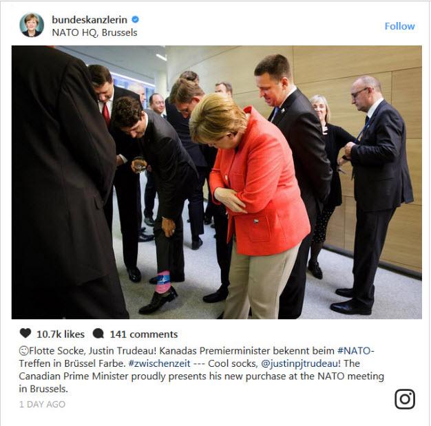 جوراب لنگهبهلنگه آقای نخستوزیر +عکس