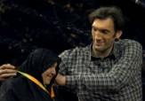 باشگاه خبرنگاران -مدالی که مرتضی دو متر و پنجاه سانتی به مادرش تقدیم کرد + فیلم