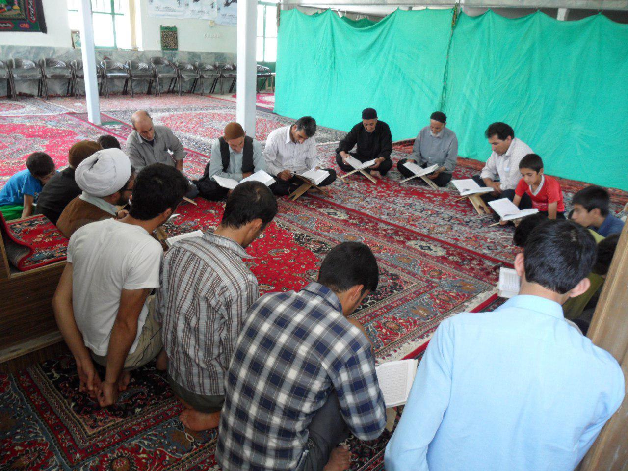تدارک ویژه مردم روستا تکه برای ماه رمضان