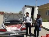 باشگاه خبرنگاران -کشف ۳۰۰ کیلوگرم گوشت غیربهداشتی
