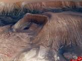 باشگاه خبرنگاران -عکس روز ناسا؛ فروپاشی گودال هیبز در مریخ