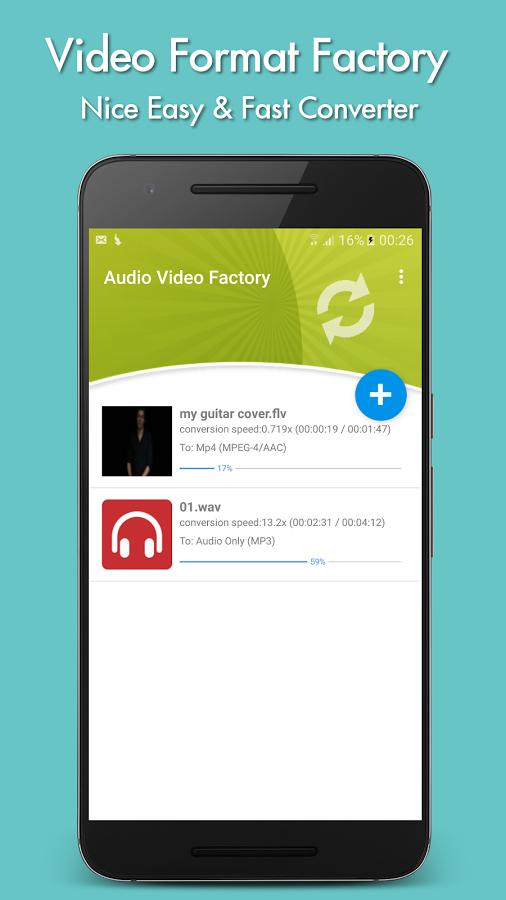 دانلود Video Format Factory 3.2 برای اندروید ؛ تبدیل حرفه ای فرمت های صوتی و تصویری