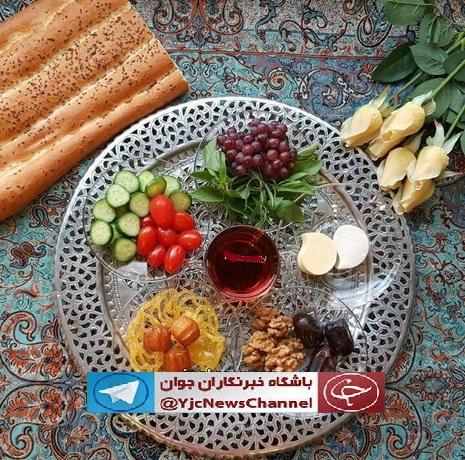 عکس سفره ماه رمضان افطاری