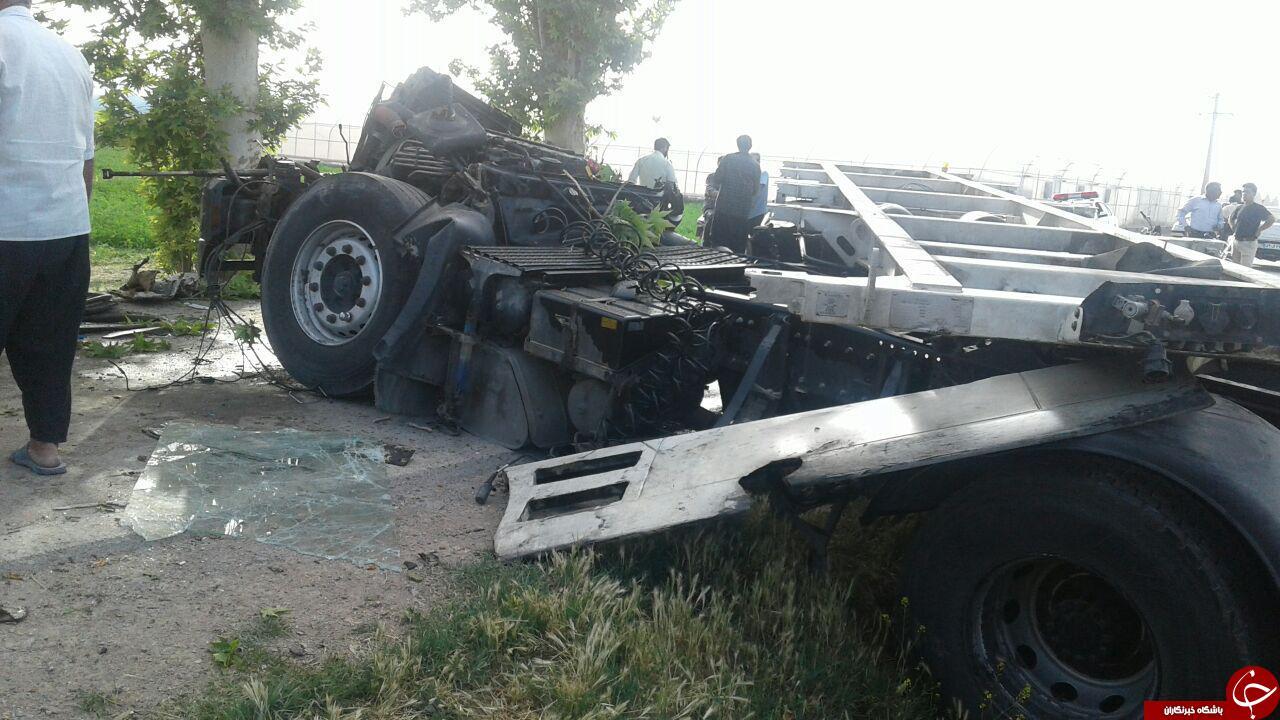 6294281 123 - تصادف شدید تریلی در روستای قلعه میر + تصاویر