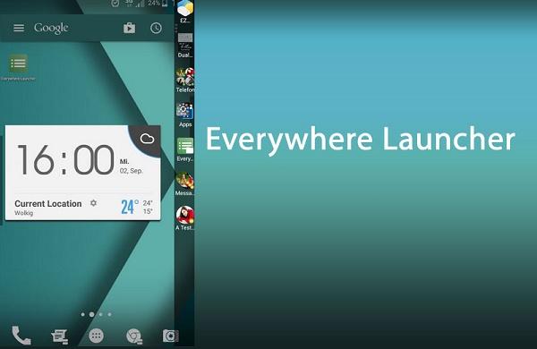 دانلود Everywhere Launcher Pro v1.61 لانچر همه کاره اندروید