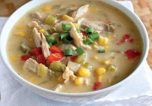 درست کردن سوپ مرغ براي ماه رمضان