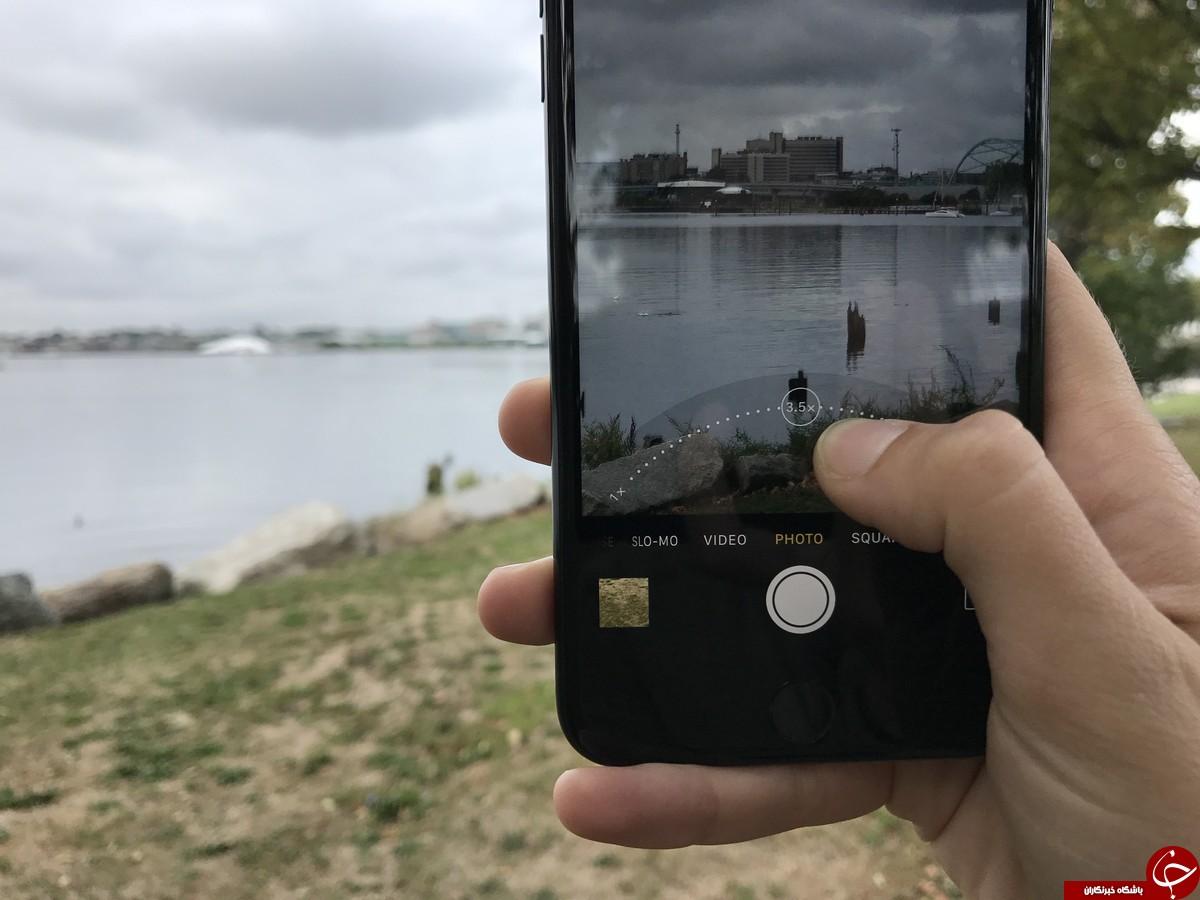 مقایسه گوشی iphone 7  و گوشی سامسونگ گلکسی S8