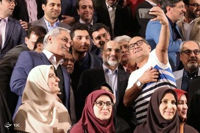 باشگاه خبرنگاران -دیدار مجریان با رئیس رسانه ملی