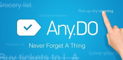 دانلود Any.do To-do List برای اندروید و ios ؛ بهترین نرم افزار برنامه ریزی کارها