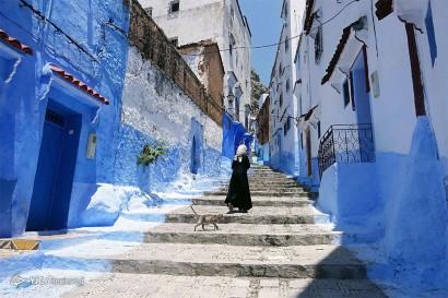باشگاه خبرنگاران -کوچه های آبی شفشاون در مراکش