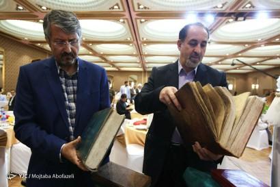باشگاه خبرنگاران -بیست و دومین مراسم سالانه رونمایی از ۲۰ اثر خطی قرآنی ، علمی ،فرهنگی و هنری