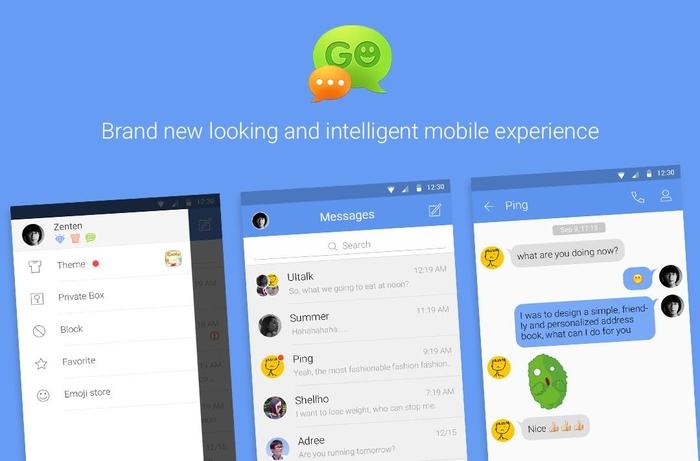 دانلود GO SMS Pro Premium 7.82 – بهترین نرم افزار مدیریت اس ام اس اندروید + پلاگین ها + فایل زبان فارسی