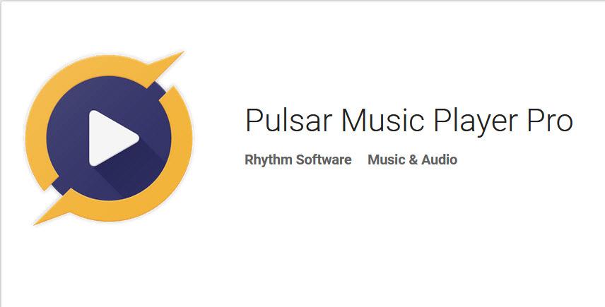 دانلود Pulsar Music Player Pro  ؛ پلیر قدرتمند و بسیار کم حجم