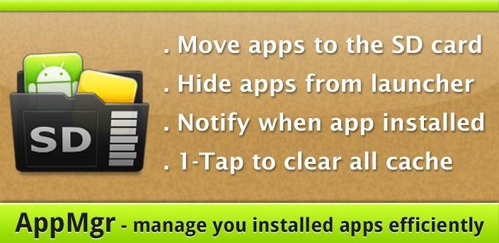 دانلود AppMgr Pro 4.21 برای اندروید ؛ رهایی از پیام کمبود حافظه در گوشی